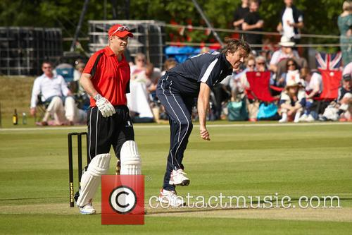 Andrew Strauss and Glen Mcgrath 3