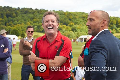 Piers Morgan and Mark Butcher 6