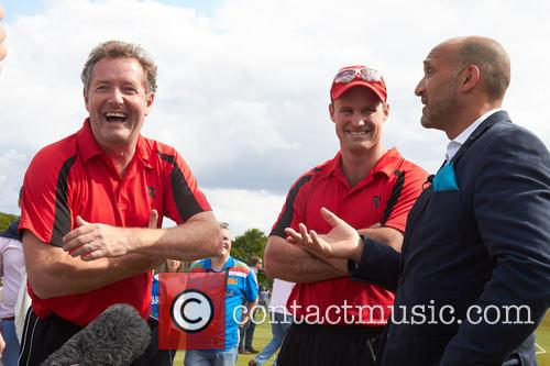 Piers Morgan, Andrew Strauss and Mark Butcher 7
