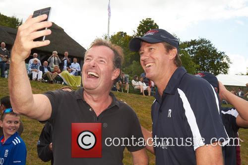 Piers Morgan and Glen Mcgrath 8