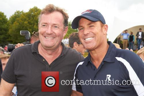 Piers Morgan and Shane Warne 9