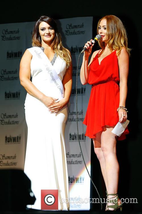 Natasha Hamilton and Contestant 6