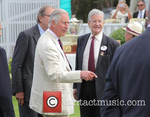 Prince Charles and Guards 1