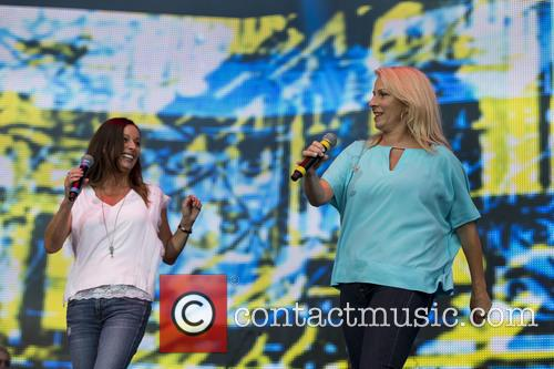 Sara Dallin, Keren Woodward and Bananarama 5