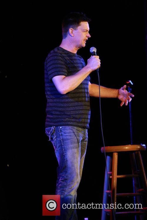 Stand-up comedian Jim Breuer performing live