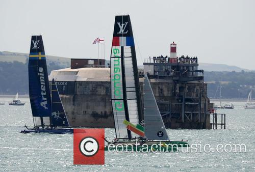 Atmosphere, Artemis Racing and Groupama Team France 6