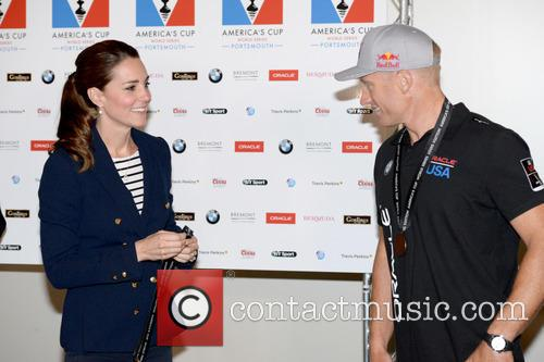 Duchess Of Cambridge, Kate Middleton and Jimmy Spithill 3