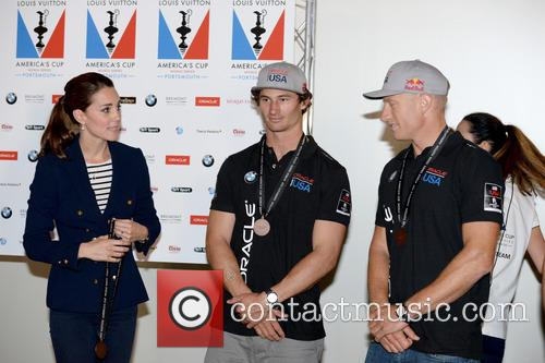 Duchess Of Cambridge, Kate Middleton and Jimmy Spithill 4