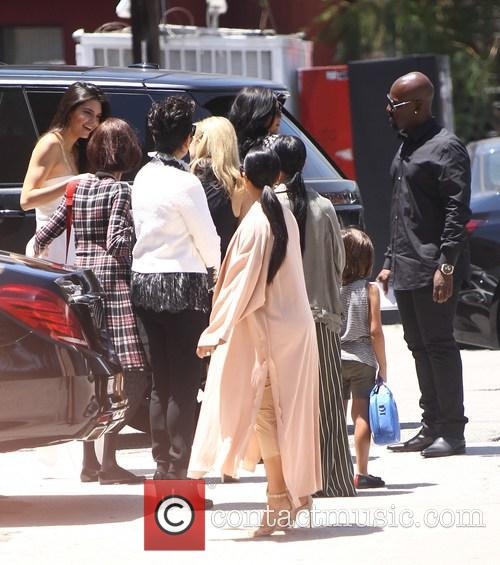 Kim Kardashian, Khloe Kardashian, Kris Jenner, Kendal Jenner and Kylie Jenner 2
