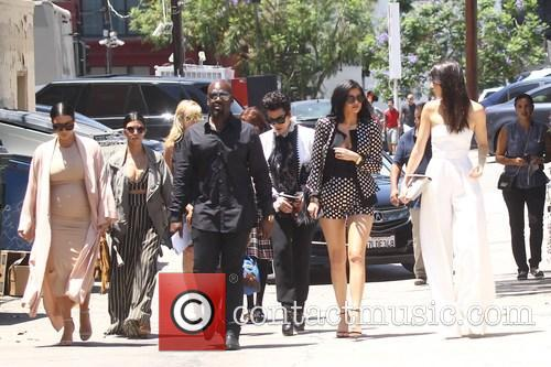 Kim Kardashian, Khloe Kardashian, Kris Jenner, Kendal Jenner and Kylie Jenner 7