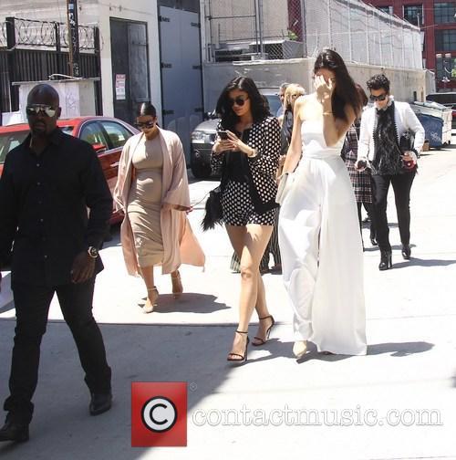 Kim Kardashian, Khloe Kardashian, Kris Jenner, Kendal Jenner and Kylie Jenner 11