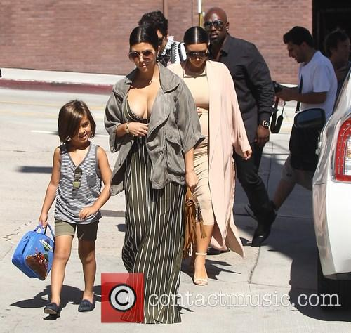 Corey Gamble, Kim Kardashian, Kourtney Kardashian and Mason Disick 4