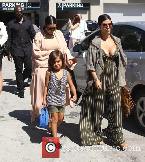 Corey Gamble, Kim Kardashian, Kourtney Kardashian and Mason Disick 1