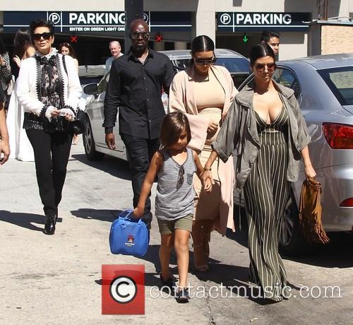 Corey Gamble, Kim Kardashian, Kris Jenner, Kourtney Kardashian and Mason Disick 9