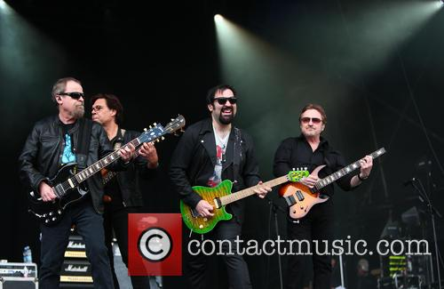 Eric Bloom, Kasim Sulton, Richie Castellano and Donald Roeser 3