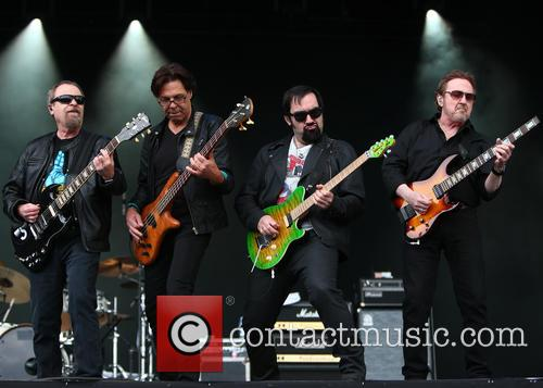 Eric Bloom, Kasim Sulton, Richie Castellano and Donald Roeser 5