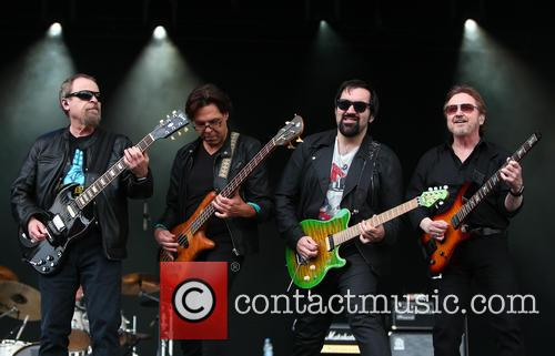 Eric Bloom, Kasim Sulton, Richie Castellano and Donald Roeser 7