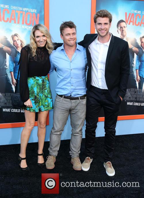 Samantha Hemsworth, Luke Hemsworth and Liam Hemsworth 1