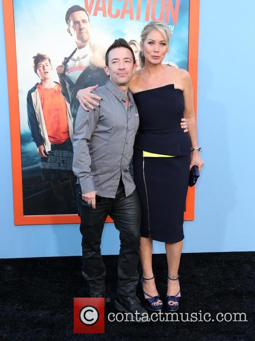David Faustino and Christina Applegate 2