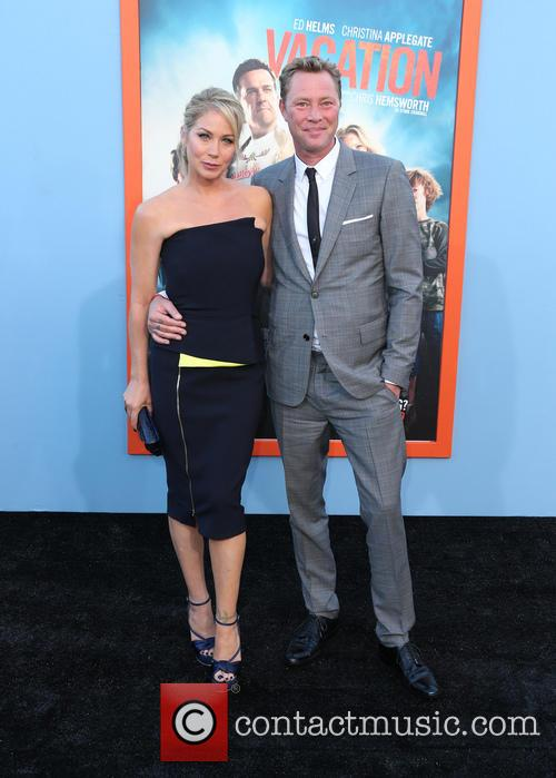 Christina Applegate and Martyn Lenoble 4