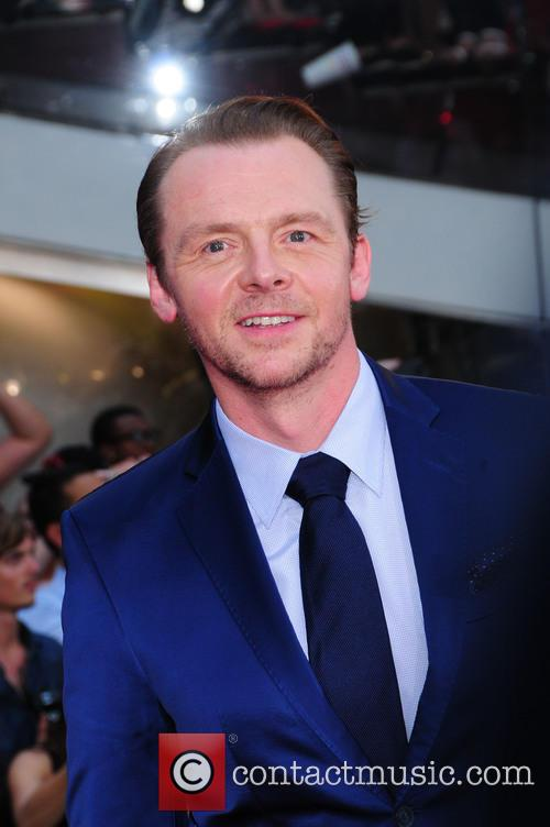 Simon Pegg and Mission Impossible 3