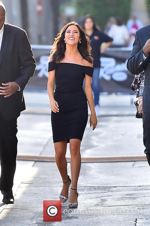 Bachelorette Kaitlyn Bristowe arrives at Jimmy Kimmel