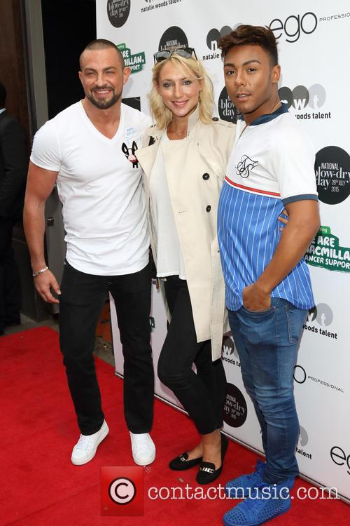 Robin Windsor, Ali Bastian and Marcus Collins