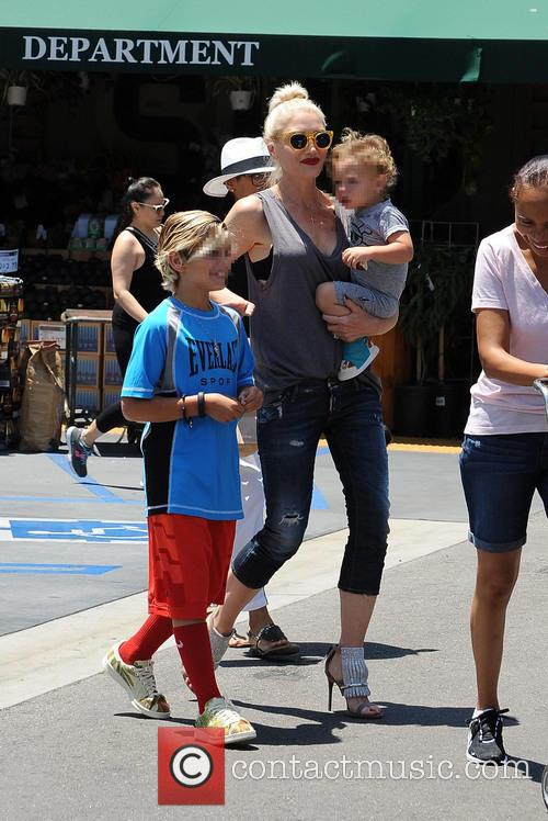 Gwen Stefani, Kingston Rossdale and Apollo Rossdale 1