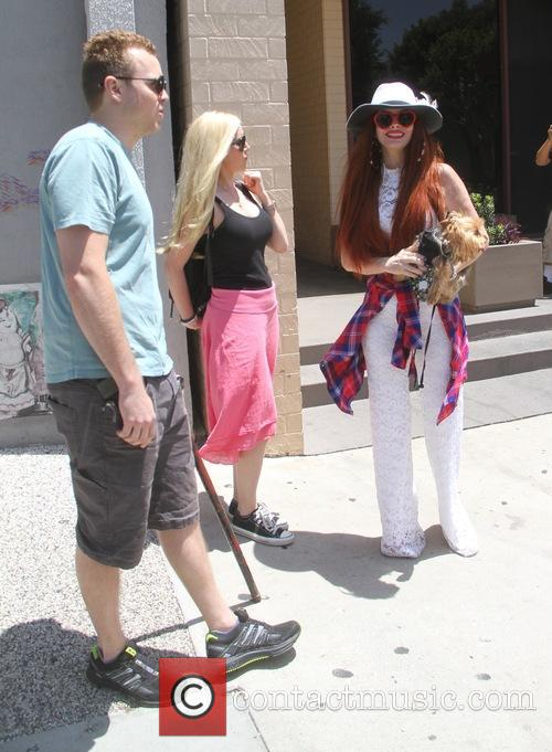 Spencer Pratt, Heidi Montag and Phoebe Price 4