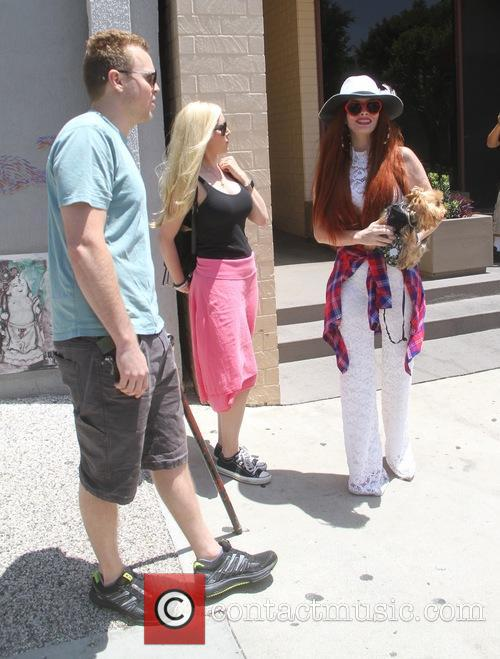 Spencer Pratt, Heidi Montag and Phoebe Price 5