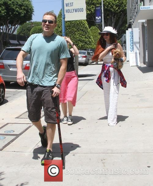 Spencer Pratt, Heidi Montag and Phoebe Price 6