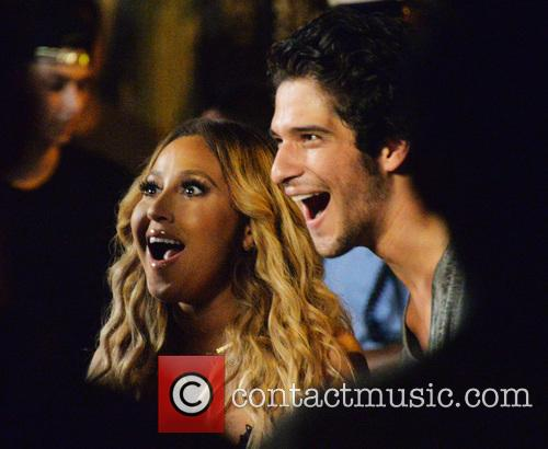 Adrienne Bailon and Tyler Posey 5