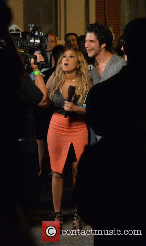 Adrienne Bailon and Tyler Posey 6