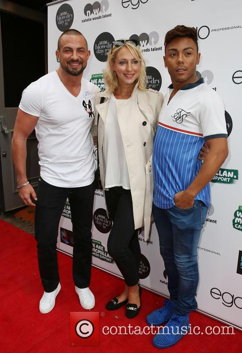 Robin Windsor, Ali Bastian and Marcus Collins 1