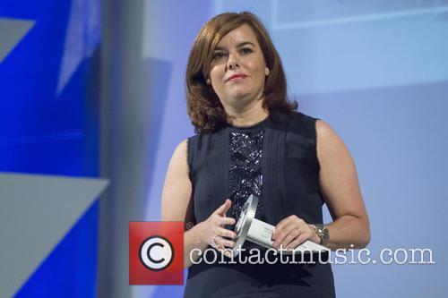 Soraya Saenz de Santamaria at the the National...