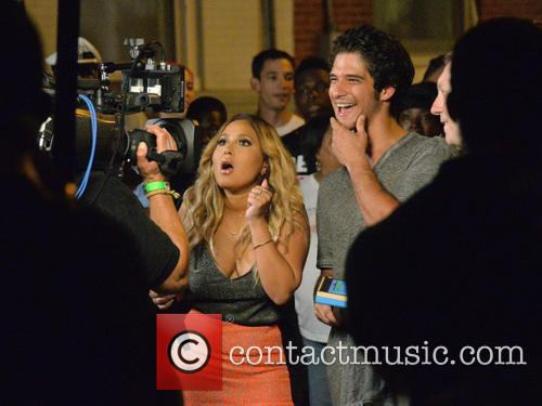 Adrienne Bailon and Tyler Posey 11