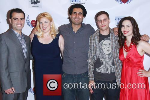 Ali Bavarian, Kristen West, Armin Nasseri, Mel A. Gibson and Vida Ghaffari 2