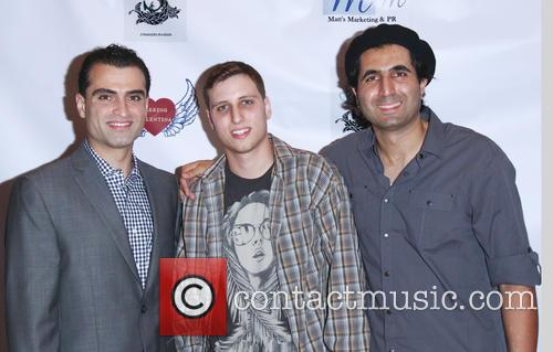 Ali Bavarian, Mel A. Gibson and Armin Nasseri 3