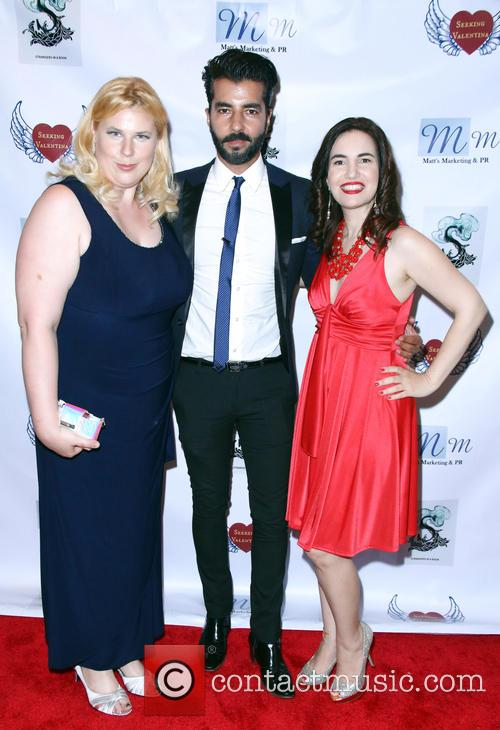Kristen West, Pedram Navab and Vida Ghaffari 2