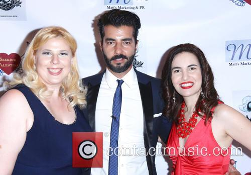 Kristen West, Pedram Navab and Vida Ghaffari 1