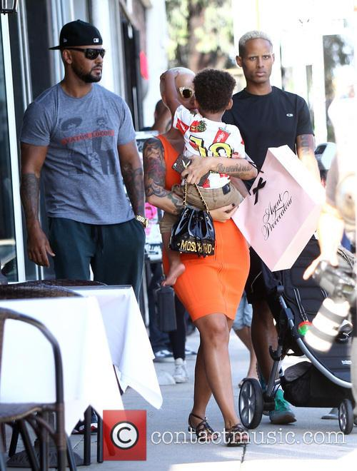 Amber Rose and Sebastian Taylor Thomaz 3