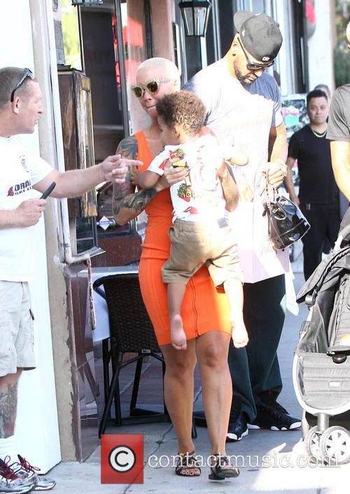 Amber Rose and Sebastian Taylor Thomaz 5