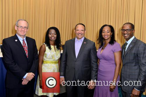 Mason, President & Ceo Sunshine Health For Centene Chris Paterson, Urban League Of Broward County Ceo Germaine Smith-baugh, National Urban League President & Ceo Marc H. Morial and Senior Vp Public Sector Markets For Nationwide Eric Steveson 1