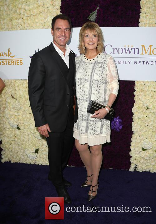 Mark Steines and Cristina Ferrare 1