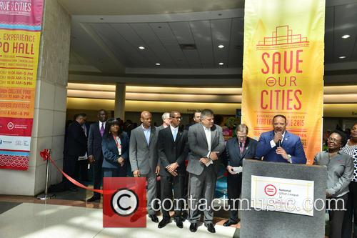 National Urban League President & Ceo Marc H. Morial and National Urban League Chair Michael F. Neidorff 2