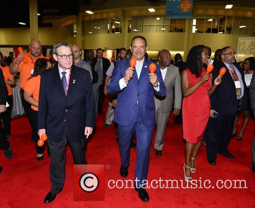 National Urban League Chair Michael F. Neidorff and National Urban League President & Ceo Marc H. Morial 10