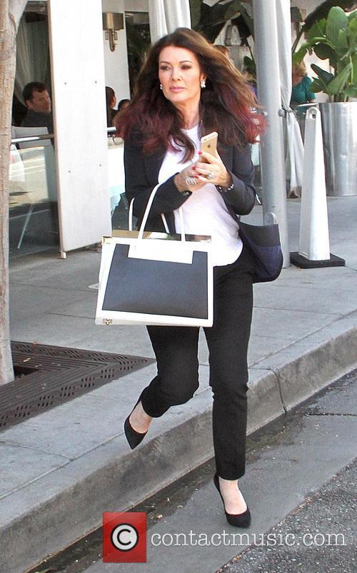 Lisa Vanderpump goes shopping in Beverly Hills