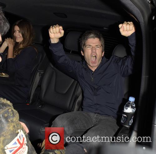 Noel Gallagher leaves Chiltern Firehouse