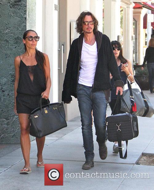Chris Cornell and Vicky Karayiannis 5