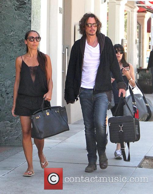 Chris Cornell and Vicky Karayiannis 1